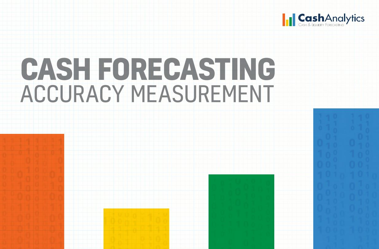 Cash Forecasting Accuracy Measurement