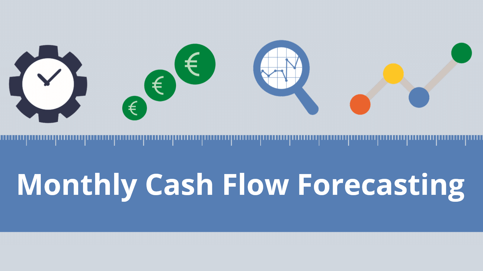 Monthly cash flow model